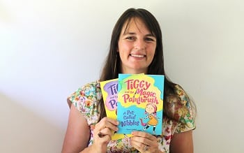 Zanni Louise With Tiggy and the Magic Paintbrush books