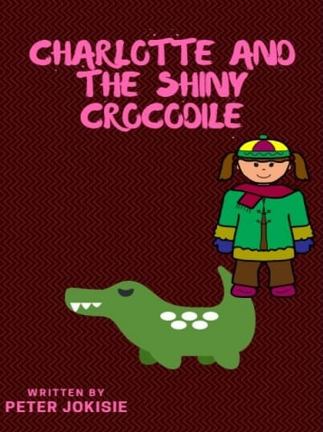Book cover for Charlotte and the Shiny Crocodile