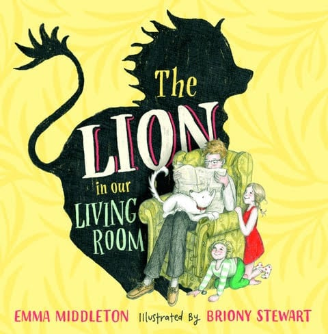 Lion In The Living Room book cover image