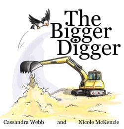 The bigger Digger book cover